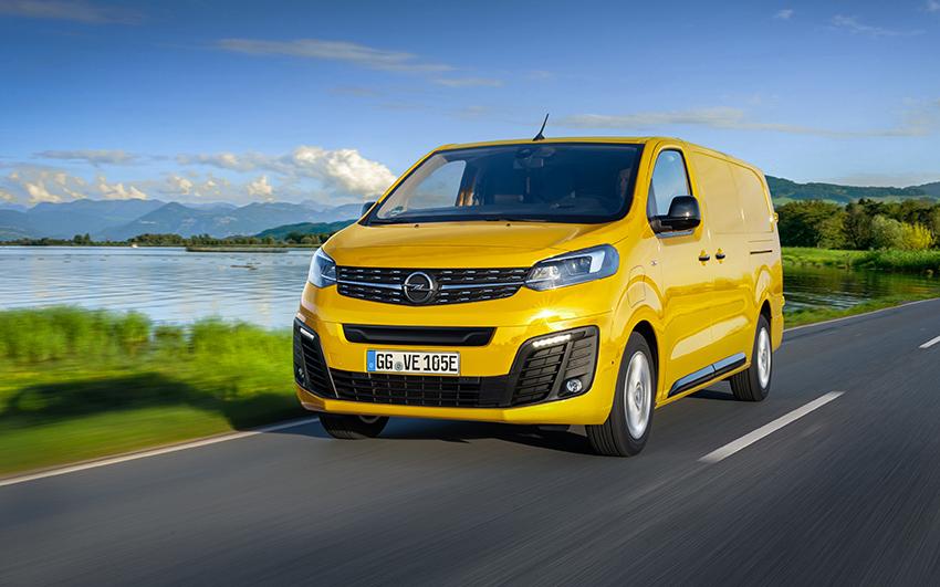 Opel e-Vivaro.