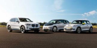 Gama electrificada de BMW Group 2020.