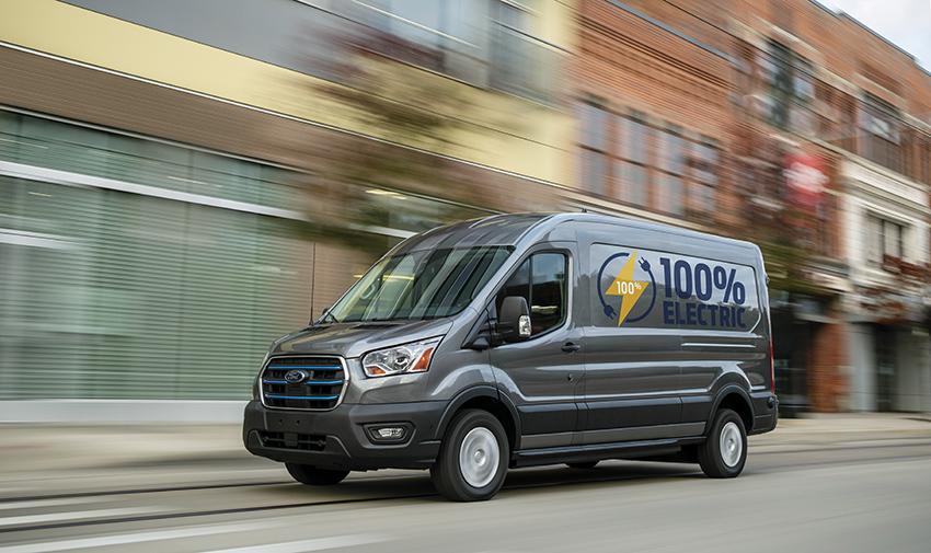 Ford E-Transit.