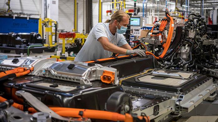 Planta de producción de Volvo en Gante (Bélgica).