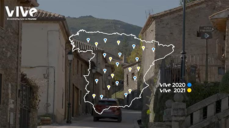 La previsión de Hyundai es que VIVe llegue a operar en más de 80 municipios antes de acabar el año.