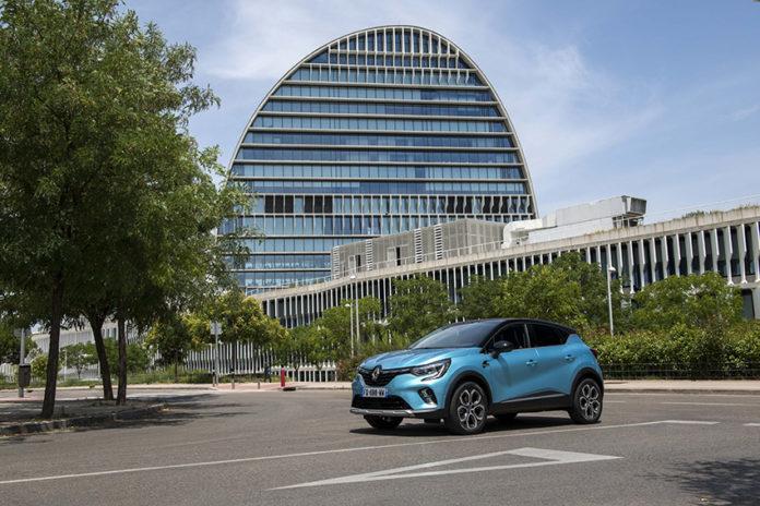 Renault Captur PHEV.