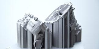 Carcasa para motores eléctricos de Porsche hecha con un sistema de impresión 3D.