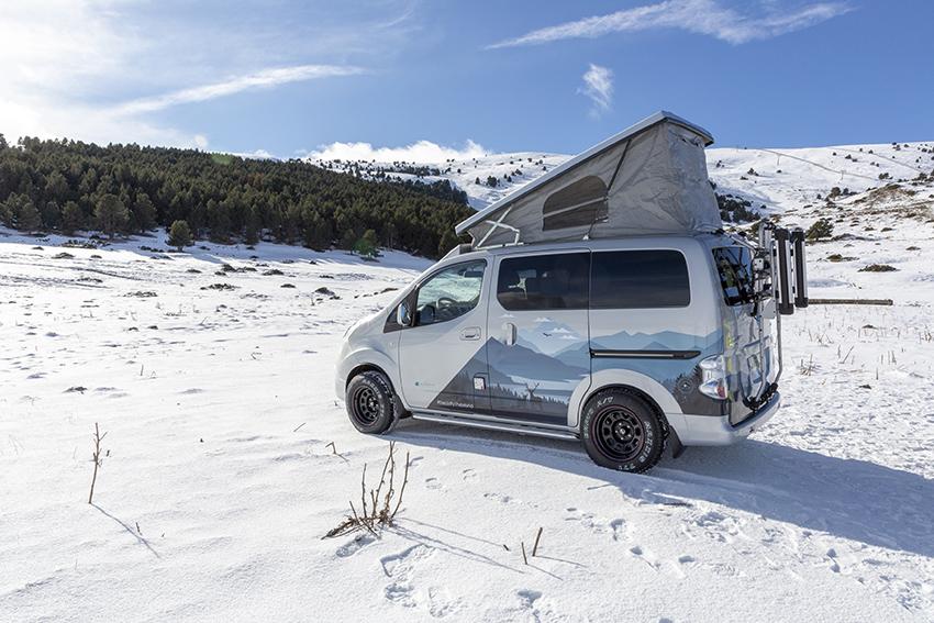 Nissan e-NV200 Winter Camper Concept.