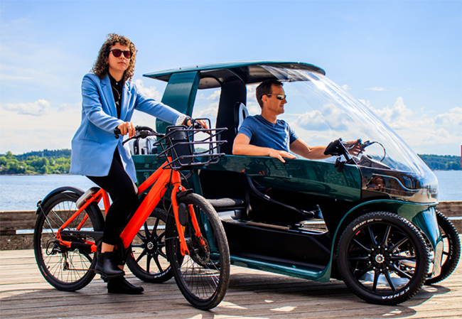 La personalización, su tamaño y prestaciones hacen que sea un vehículo adecuado para los desplazamientos urbanos del día a día.