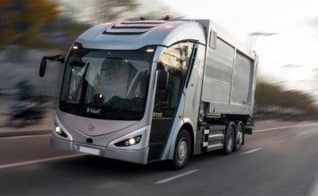 """Irizar ie truck, """"Vehículo Industrial Ecológico 2021""""."""