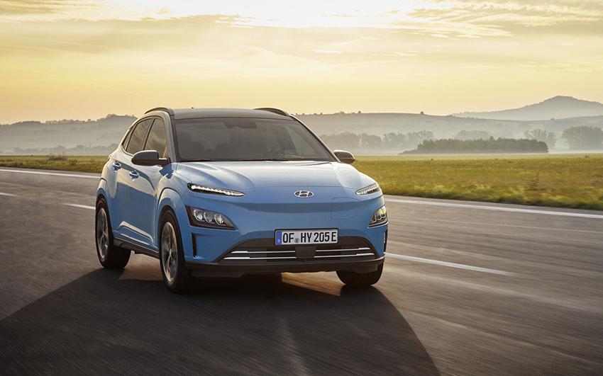 Hyundai Kona Eléctrico.