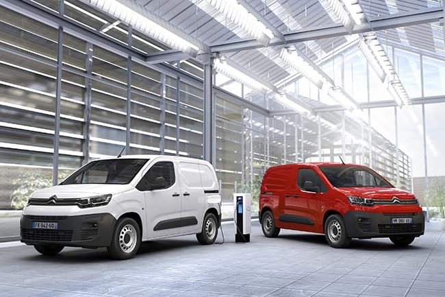 Dos tamaños en la nueva Citroën ë-Berlingo Van.