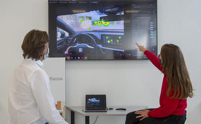 SEAT Eye-Tracking, una tecnología para hacer más segura la conducción en el futuro.