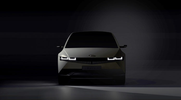 Teaser del Hyundai IONIQ 5