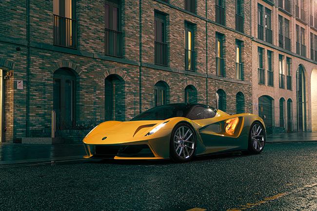 Es indiscutible la herencia del gran diseño de Lotus en el hiperdeportivo.