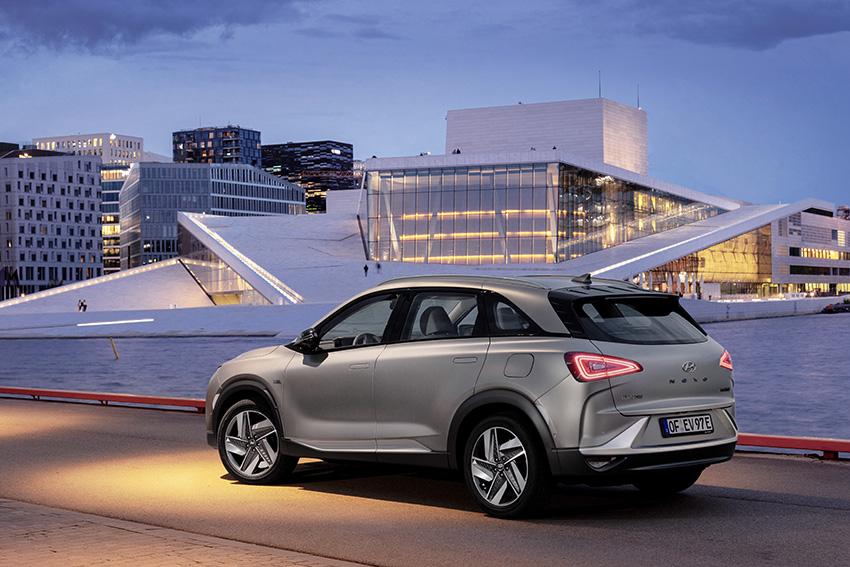 Nuevo premio para el Hyundai NEXO de hidrógeno.