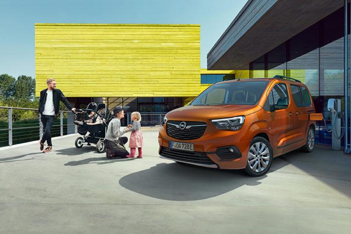 Nuevo Opel Combo-e Life.