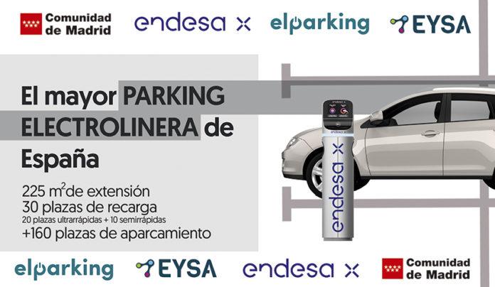 El acuerdo entre Endesa X y EYSA se materializará en la construcción del aparcamiento-electrolinera de la Ciudad de la Imagen.