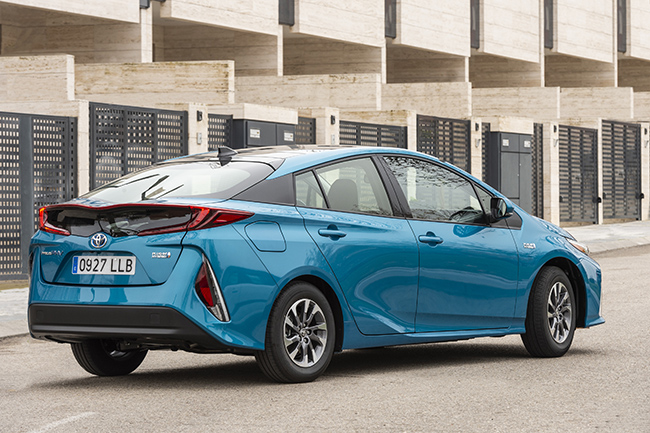 Prius Plug-in toyota coches electricos