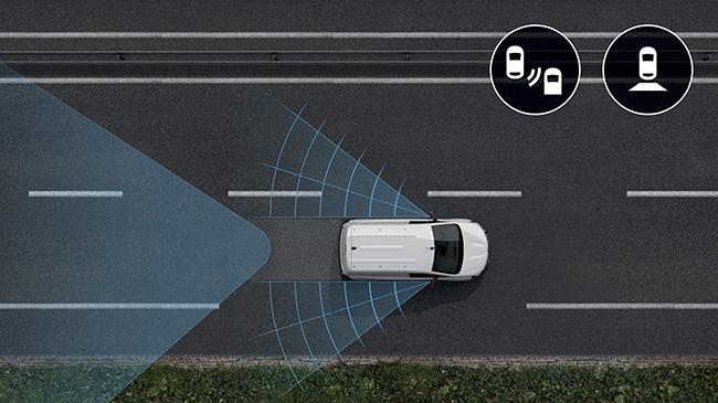EL nuevo Kangoo Furgón E-TECH Eléctrico incorpora numerosos sistemas de ayuda a la conducción.