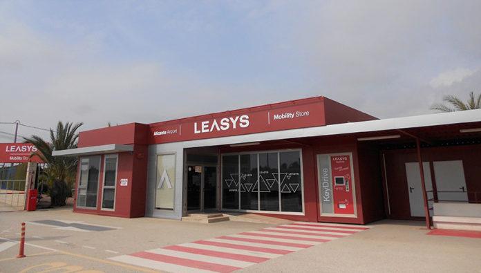 Leasys Mobility Store Alicante.