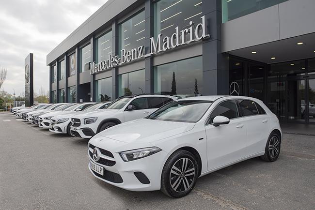 Acuerdo de Mercedes-Benz España y Vodafone España.