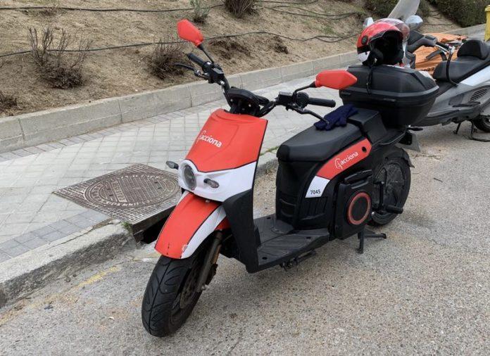 Scooter de Acciona