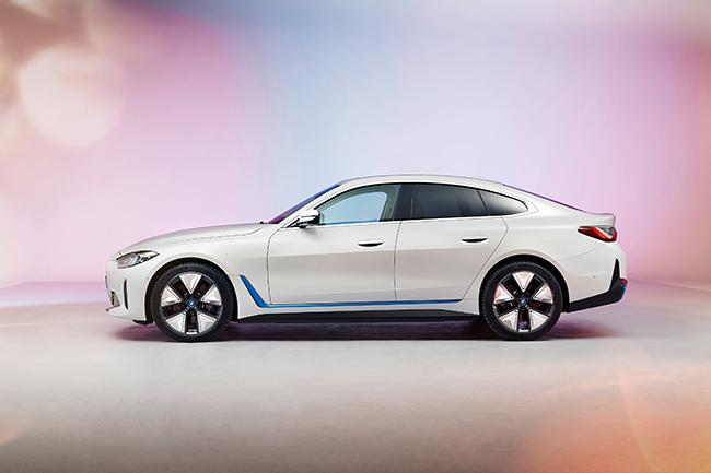 Nuevo BMW i4.