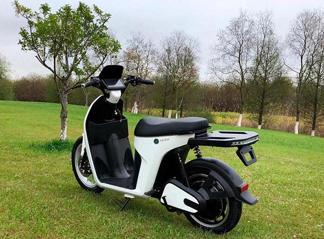 Ciclomotor Wellta Taiga.