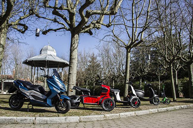 La gama de Invicta Electric va desde automóviles a patinetes, pasando por comerciales, motocicletas y bicis. Y todos ellos, eléctricos.