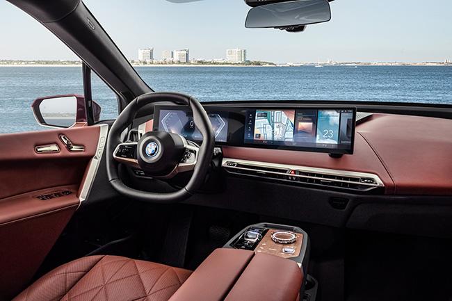 Interior BMW iX