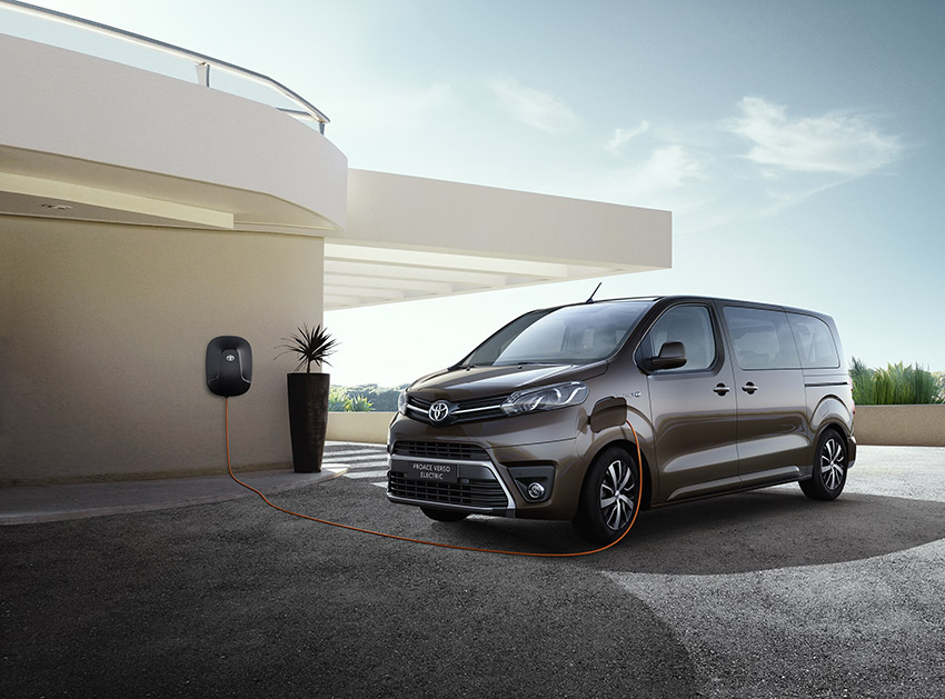 Toyota Proace Verso Electric.