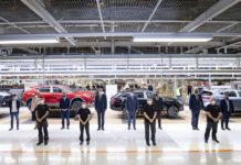 La visita a Martorell contó con el rey, el presidente del Gobierno, la ministra de Industria, así como directivos del Grupo Volkswagen y SEAT.