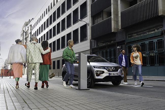 Dacia Spring Electric, un coche 'divertido y esencial a la vez'.