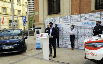 Presentación de la octava edición del Eco Rallye de la Comunidad Valenciana.
