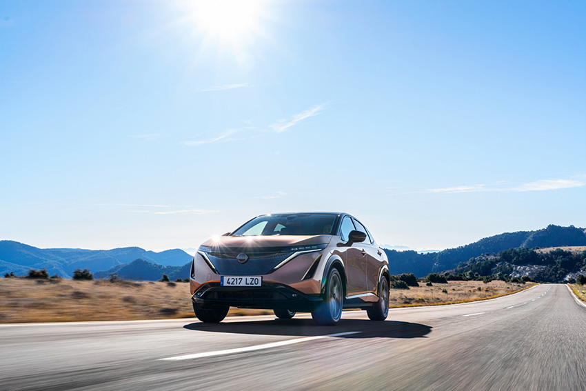 Nissan Ariya SUV electrico