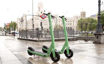 Servicio de patinetes Bolt en Madrid