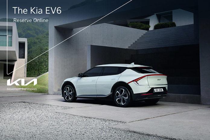 Kia EV6.