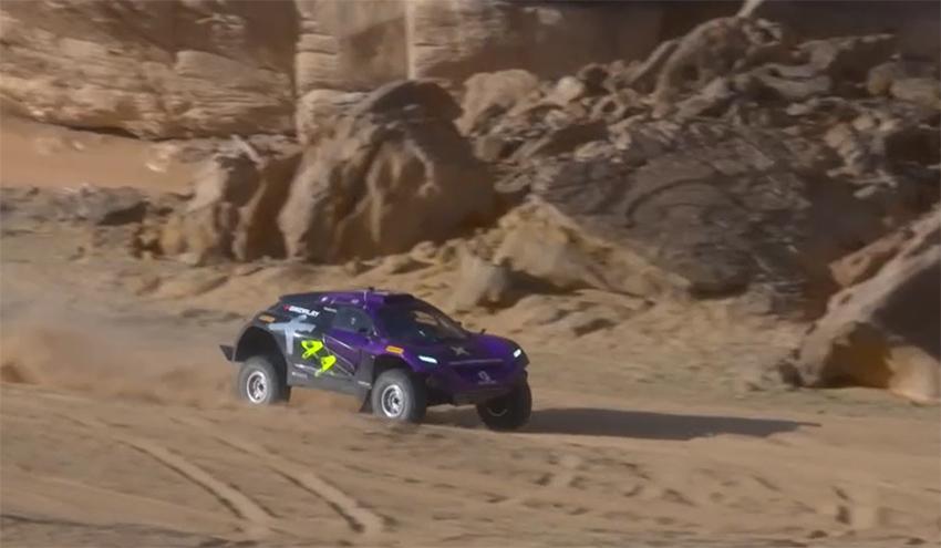 El Odissey 21 del equipo X44.
