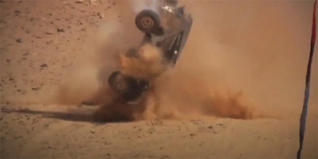Los accidentes de la primera jornada demostraron lo duras que van a ser las carreras.