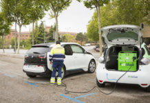Nuevo servicio de emergencia de Baterías a Domicilio para la recarga de vehículos eléctricos.