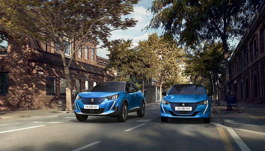 Peugeot e-208 y e-2008 coches electricos hibridos enchufables