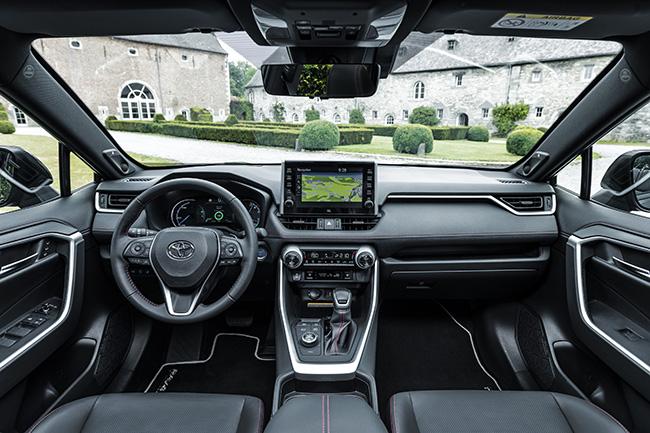 Interior Toyota RAV4 Plug-in.