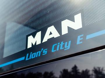 marca de autobuses electricos MAN