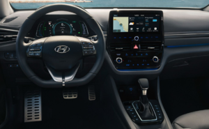 Hyundai Ioniq PHEV 1.6 interior