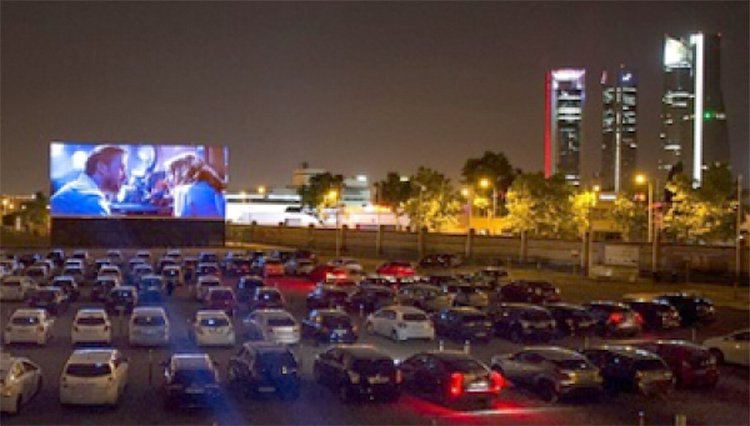 Autocine. Foto: Madrid Emprende.