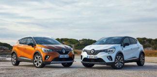 Renault Captur E-TECH Plug-in hybrid.