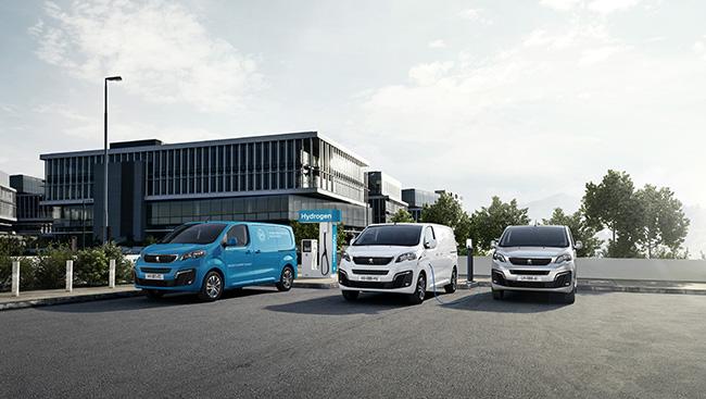 Versiones del Peugeot e-Expert Hydrogen