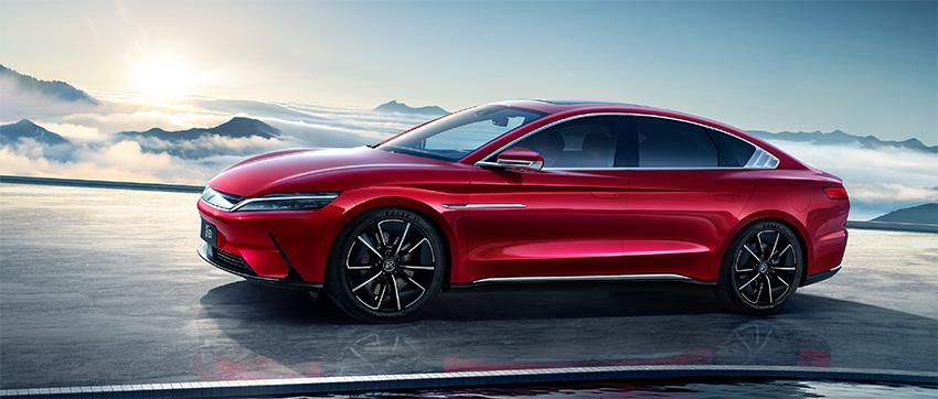 BYD Han EV los mejores coches electricos chinos