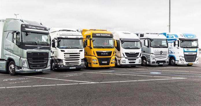Infraestructura de hidrógeno para camiones pesados en la UE.