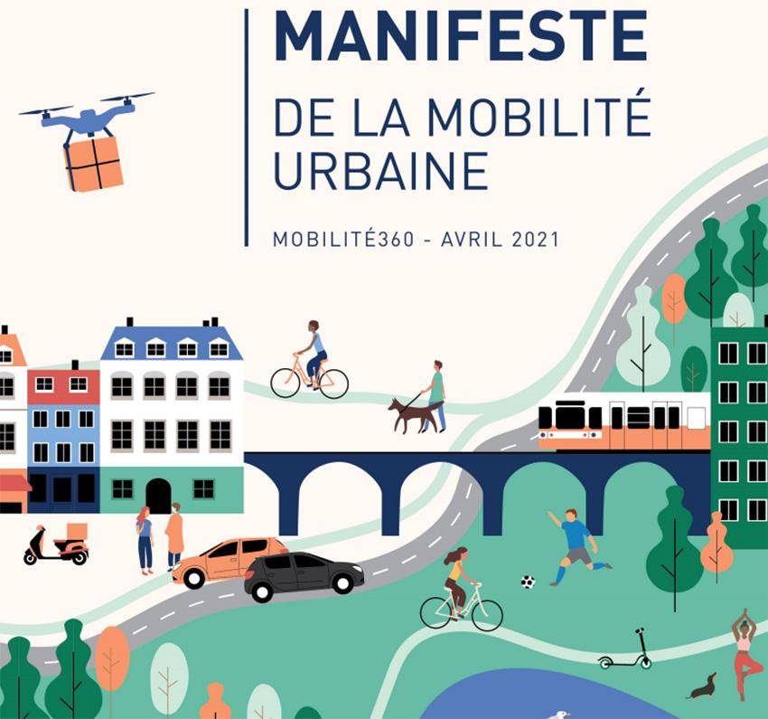 Manifiesto de Uber, Mobilize, RATP y Blablacar.
