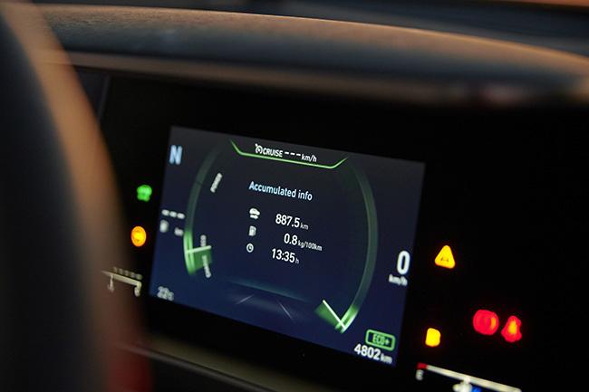 Hyundai NEXO récord de distancia.