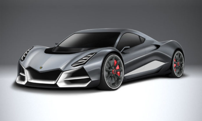 Superdeportivo eléctrico Morand Cars