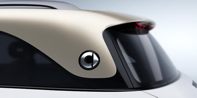 Detalle del nuevo SUV de smart